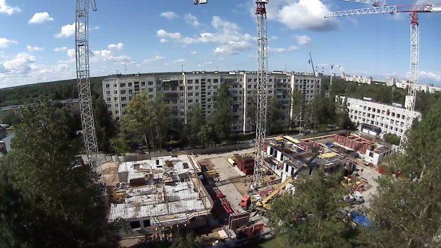 Системы видеонаблюдения для строительной площадки
