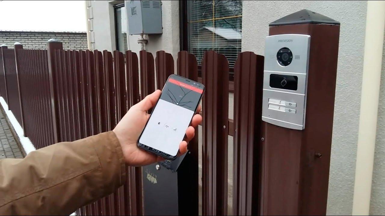 Установка IP домофона с подключением к смартфонам для дома в Ставрополе